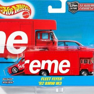 Supreme Hot Wheels 1992 fleet flyer